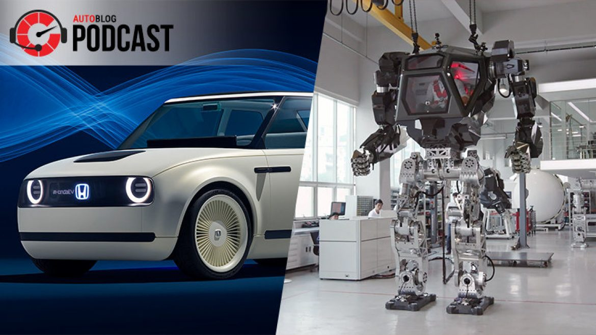 Frankfurt winners and walking mech suits| Autoblog Podcast #525